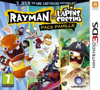 Rayman et The Lapins Crétins : Pack Famille