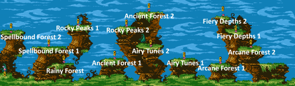 Rayman GBC Time Attack Map with names.PNG