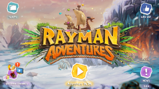 Rayman Adventures Ray-Gnarr's Ivy Expedition Main Menu.png