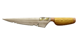 A knife in Rayman Legends